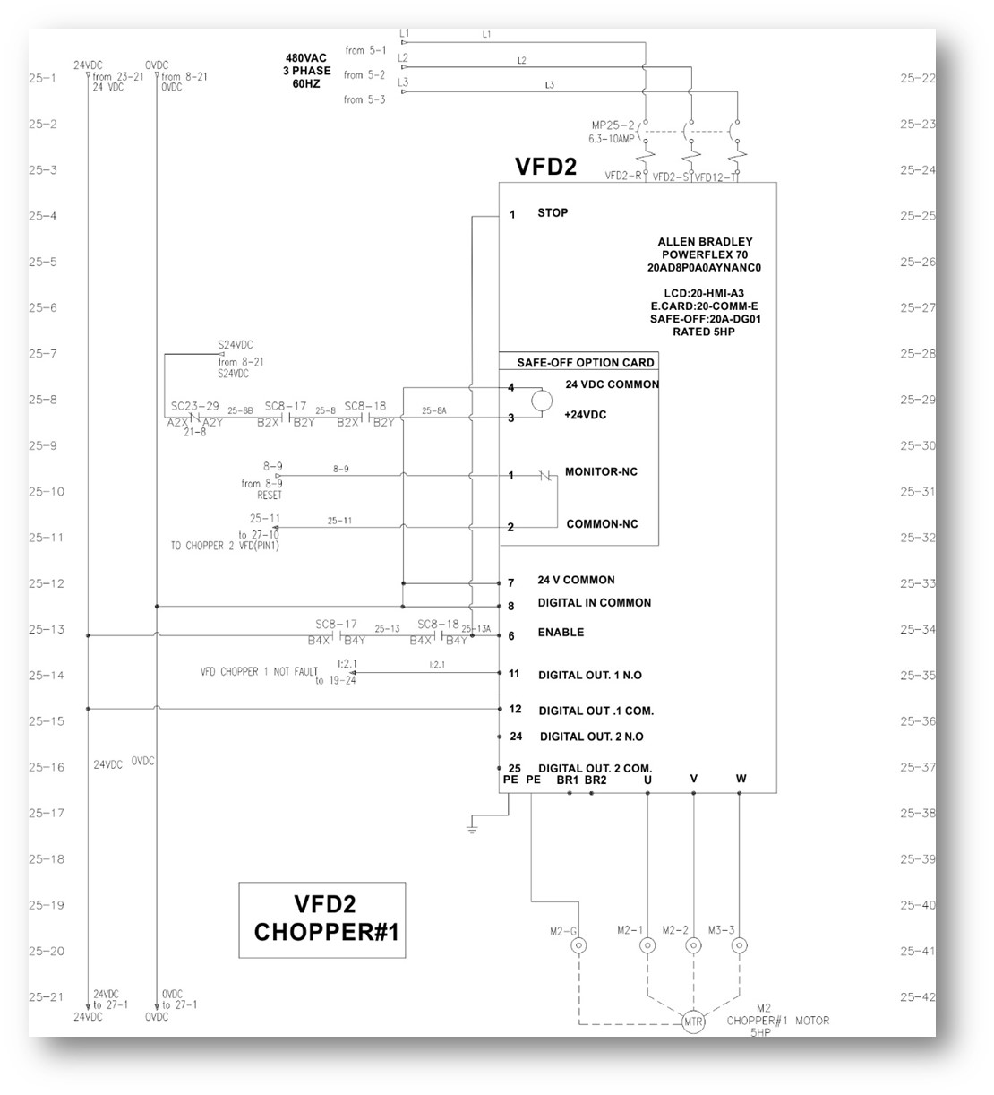Example Electrical Drawing